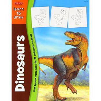 【预订】Learn to Draw Dinosaurs 美国库房发货,通常付款后3-5周到货!