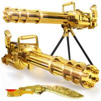 加特林儿童电动玩具枪连发巴雷特3-6岁男孩