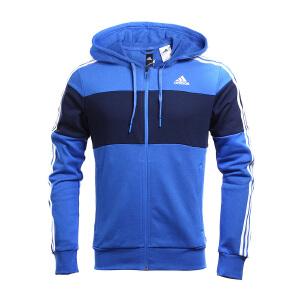 Adidas阿迪达斯男装  训练系列运动休闲连帽茄克外套 BR1541