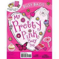 【预订】Busy Bags My Pretty Pink Busy Bag [With Mask and Crayon