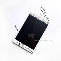 新ipad钢化膜苹果ipad air2贴膜平板mini1/3/4卡通彩膜pro玻璃膜5 ipad2/3/4 可爱猫咪