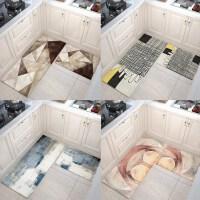 抽象垫子厨房地垫防油北欧防滑长条门口地毯脚垫家用吸水门垫进门