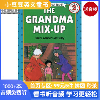 英文原版 The Grandma Mix-Up (I Can Read) 两个奶奶