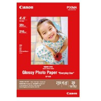 Canon/佳能 GP-508相纸 A4 A6高级光面照片纸 相纸 光面照片纸GP-508 210克 6寸A6 20张