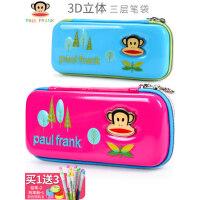 大嘴猴小学生文具盒简约可爱少女心笔盒儿童笔袋男孩女孩铅笔袋