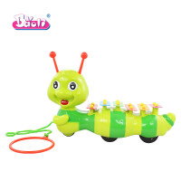 宝丽/Baoli 儿童早教手敲琴宝宝木琴玩具婴幼儿1-3岁打击乐器a300 1208拖拉毛毛虫