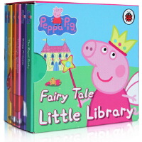 Peppa Pig Fairy Tale Little Library小猪佩奇英文盒装6册