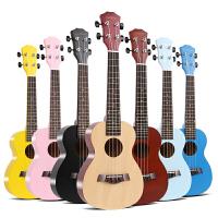 乌克丽丽四弦彩色小吉他 尤克里里初学者23寸21寸儿童学生女