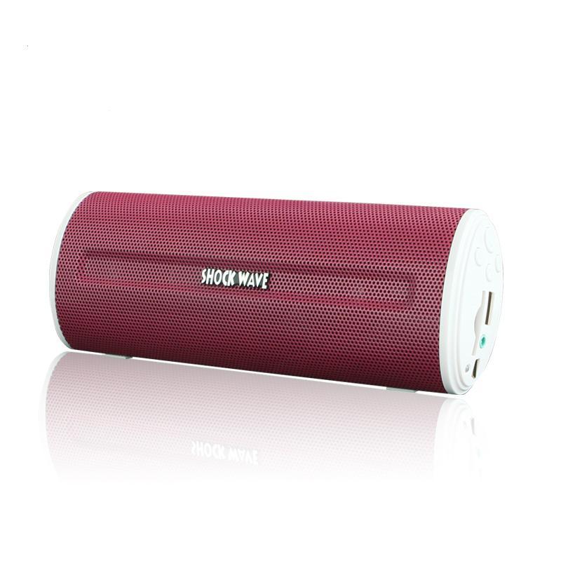 shockwaveSM109USB插卡音箱便携式迷你小音响红色 mp3播放器低音炮正品USB插卡音箱便携式迷你小音响 mp3播放器