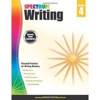 【现货】英文原版 光谱写作:4年级 Spectrum Writing, Grade 4 练习册