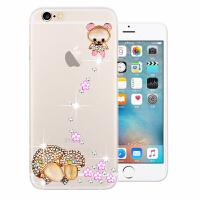 iPhone6手机壳 苹果6s手机套保护套硅胶防摔外壳新款软水钻4.7