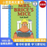 #英文绘本 原版进口 Mrs. Brice's Mice 布莱斯太太的老鼠 汪培�E一阶段 [4-8岁]