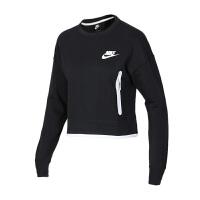 NIKE耐克 女装 运动休闲圆领卫衣套头衫 939930-011