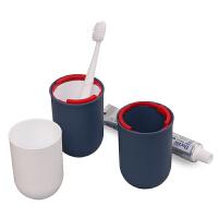 防水出差旅游用品男女洗漱包 旅行洗漱杯 套装牙刷牙膏便携