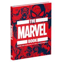 DK百科系列 漫威之书 英文原版 The Marvel Book 精装 拓展漫威宇宙的知识点 漫威周边 美漫图册 英文