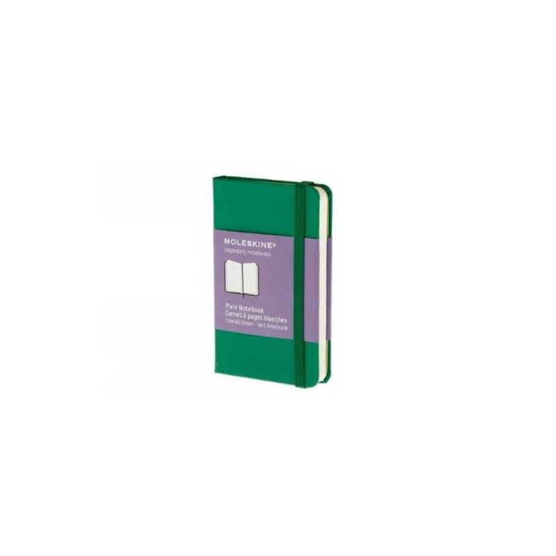 英文原版 Moleskine Plain Extra Small Grass Green Notebook