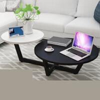 北欧茶几现代简约客厅小户型迷你欧式创意个性咖啡桌简易圆形桌子o0s