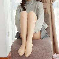 光腿保暖神器春秋冬季加绒加厚连裤袜假透肉打底裤女肉色防勾丝袜 均码