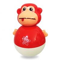 婴儿玩具大号不倒翁点头娃娃3-6-9-12个月宝宝早教0-1岁玩具 正红色