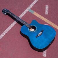 吉他�伟迕裰{吉他40寸41寸木吉他初�W者�W生男女�菲魅腴T吉它