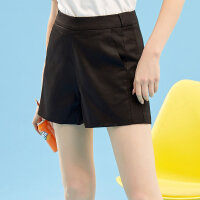 【1件2.5折到手价:33.8】美特斯邦威休闲短裤女显瘦百搭打底裤子ins韩版学生裤子夏季新款