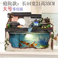 小假山流水喷泉客厅风水轮加湿器鱼缸景观工艺礼品办公室桌面摆件