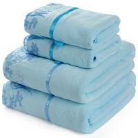 棉大纱布浴巾180*90cm毛巾被棉男女柔软加厚 140x70cm