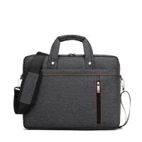 商务苹果电脑包13寸14寸15.6寸17寸男女防水防震单肩手提笔记本包