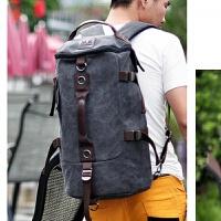 20180701191141420男士装衣服的包 大容量轻便双肩行李包多功能旅行包 出差休闲背包