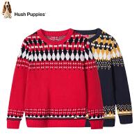 【3折价:128.7元】暇步士童装春季新款男童针织衫时尚撞色套头线衣儿童针织衫