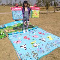宝宝爬行垫折叠20*号可折叠2米宝宝爬行垫儿童爬爬垫春游便携草坪垫地垫1.8米A 隔水防潮带收纳袋踏青春游