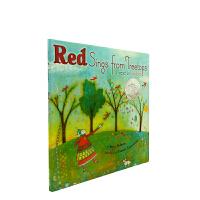 英文原版 Red Sings from Treetops 红色树梢在歌唱 精装[4-8岁]