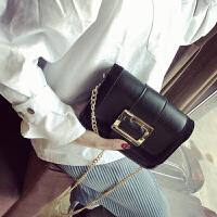 韩版小方包复古单肩斜挎包女包简约BW手机小包包