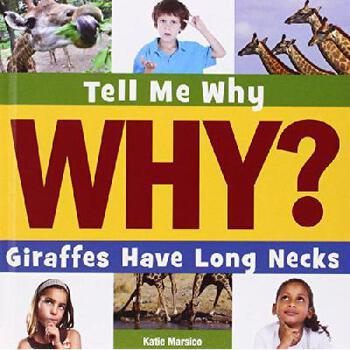 【预订】Giraffes Have Long Necks 美国库房发货,通常付款后3-5周到货!