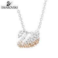 SWAROVSKI/施华洛世奇 ICONIC SWAN SMALL渐变色天鹅项链 5215038(小号)