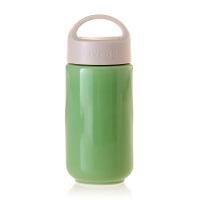 乾唐轩活瓷中喝彩旅行随身杯单层陶瓷带盖便携防漏泡茶水杯子热卖