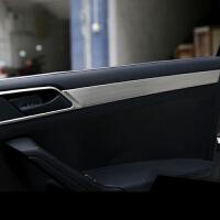 于大众新捷达改装内拉手亮条内饰不锈钢门板装饰汽车内门把手