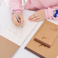 牛皮纸草稿本32K涂鸦记事拍纸簿环保便签计算本子学生文具