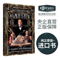 了不起的盖茨比 英文原版 The Great Gatsby 电影版小说 伟大的盖茨比 莱昂纳多 菲茨杰拉德 电影版 爱