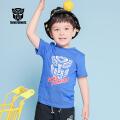 【99元3件】变形金刚童装男童夏装2019春夏新品全棉短袖T恤