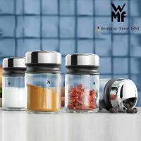 德国WMF福腾宝调料瓶套装玻璃佐料瓶厨房调味罐 4件套