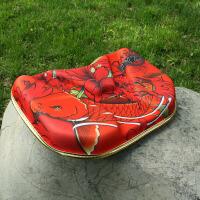 钓箱座垫3d钓箱硅胶记忆坐垫通用型加厚高弹透气3D钓鱼垫子钓箱配件