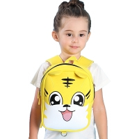 小童书包幼儿园1-3-5岁儿童可爱宝宝外出牵引旅行双肩背包防走失