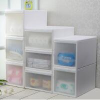 百露抽屉式收纳柜儿童宝宝衣柜玩具储物柜零食抽屉柜鞋柜