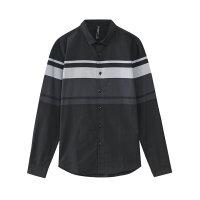 【年前最后狂欢,3件2.2折到手价:43.78】美特斯邦威春秋季男条纹长袖衬衫
