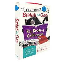 Splat the Cat Big Reading Collection 5册盒装