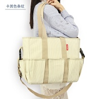妈咪包大容量婴儿宝宝外出背包内胆分格哺乳期手提包单肩母婴包