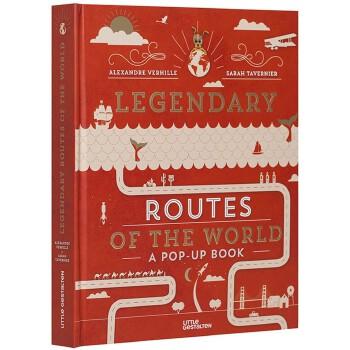 Legendary Routes of the World 世界传奇路线立体书:丝绸之路 法国南美邮运 美国66号公路 朗姆之路 1969登月之路 英文原版