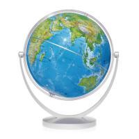 博目地球仪-20cm中文地形地球仪倾角万向支架112025北京博目地图制品有限责任公司中国地图出版社