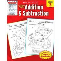现货英文原版 Scholastic Success with Addition & Subtraction, Grade